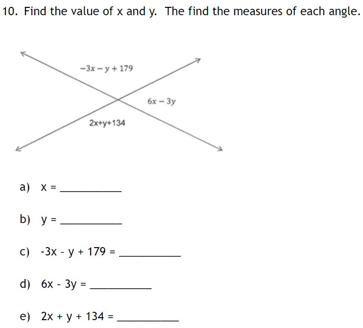 Find the value of x and y. Then find the mea...</div></div></div></div> <div class=