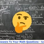 How to answer my math questions fast