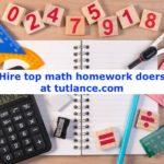 Hire the best math homework doer