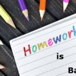Reasons why homework is bad